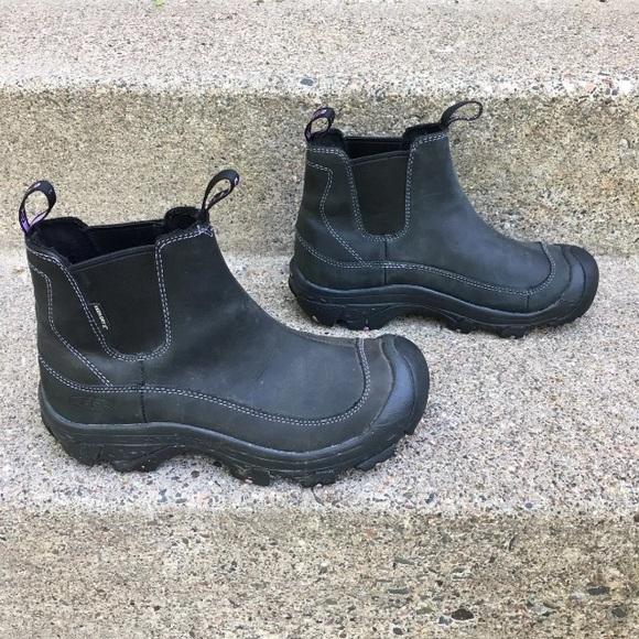 Keen Keen Keen Schuhes   Anchorage schwarz Damenschuhe Stiefel 7   Poshmark 7a2451
